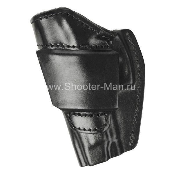Кожаная кобура для пистолета Ярыгина модель № 7 МОДИФ. 2011 г Стич Профи фото 4