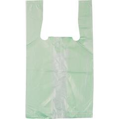 Пакет-майка ПНД цветной 10 мкм (16+12x30 см, 100 штук в упаковке)