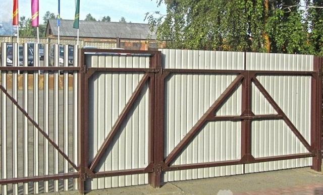 Забор. Калитка. Ворота ОКЗ