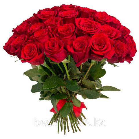 Букет из 35 Голландских роз (70 см)