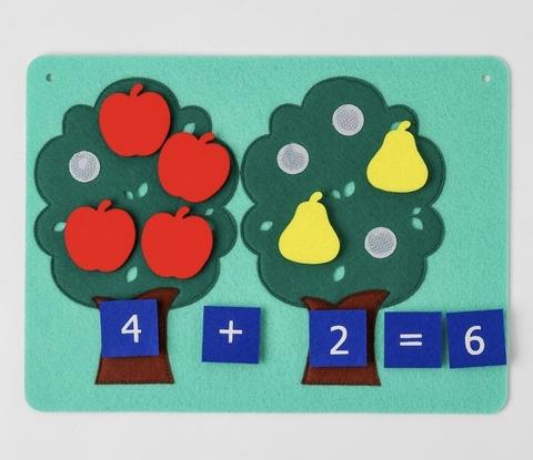 Развивающий планшет «Два дерева»