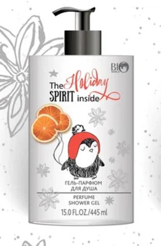 BIO WORLD Рождественская серия Гель-парфюм для душа  445мл