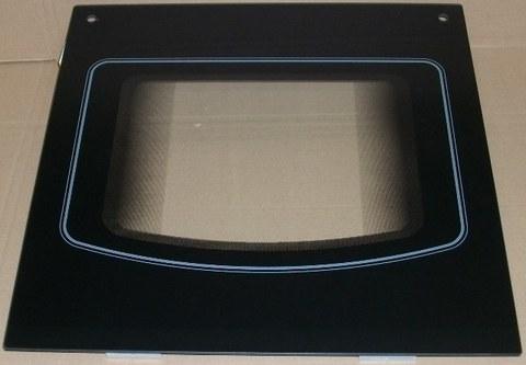 Внешнее стекло дверки духовки БЕКО 490000009