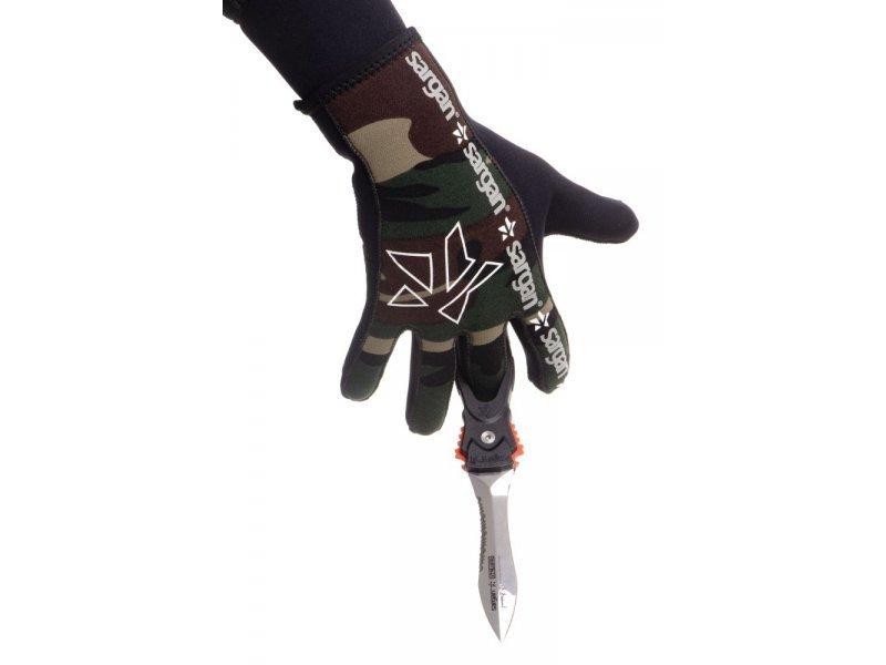 Нож SARGAN Сталкер-стропорез Z1 - зеркальная полировка