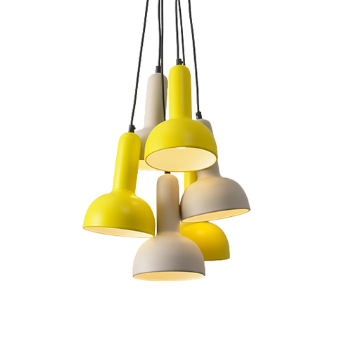 Подвесной светильник копия TORCH S2 by Sylvain Willenz (6 плафонов)