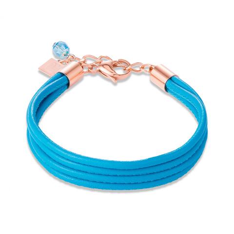 Браслет Coeur de Lion 0219/30-0600 цвет голубой