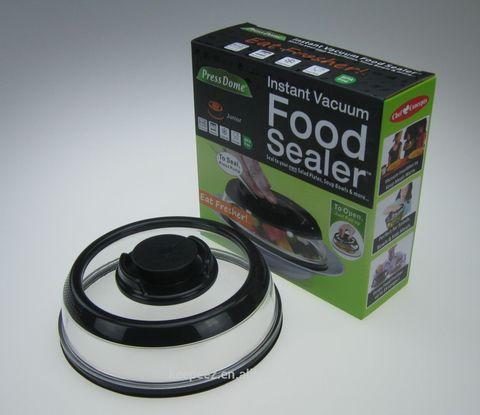 Вакуумная многоразовая крышка - vacuum food sealer