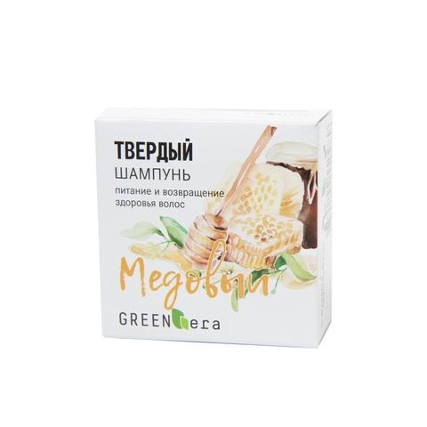 Твердый шампунь Медовый питание и блеск | Green Era