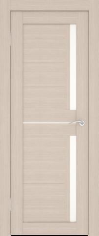 Дверь София (2С1М) (S-7) (беленый дуб, остекленная экошпон), фабрика Zadoor
