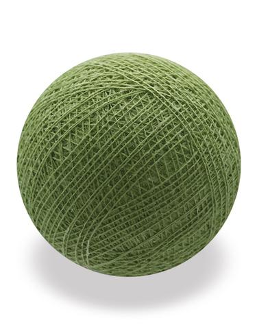 Хлопковый шарик хаки