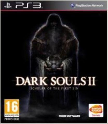 Dark Souls II: Scholar of The First Sin (PS3, английская версия)