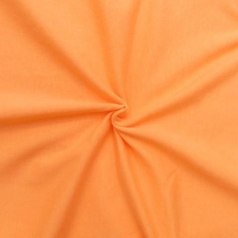 Кулирка однотонная цвет светло-оранжевый