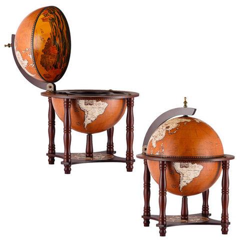 Глобус-бар напольный «Новая земля»