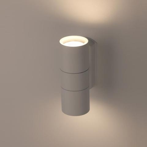 Декоративная подсветка ЭРА WL28 WH 2*GU10 IP54 белый