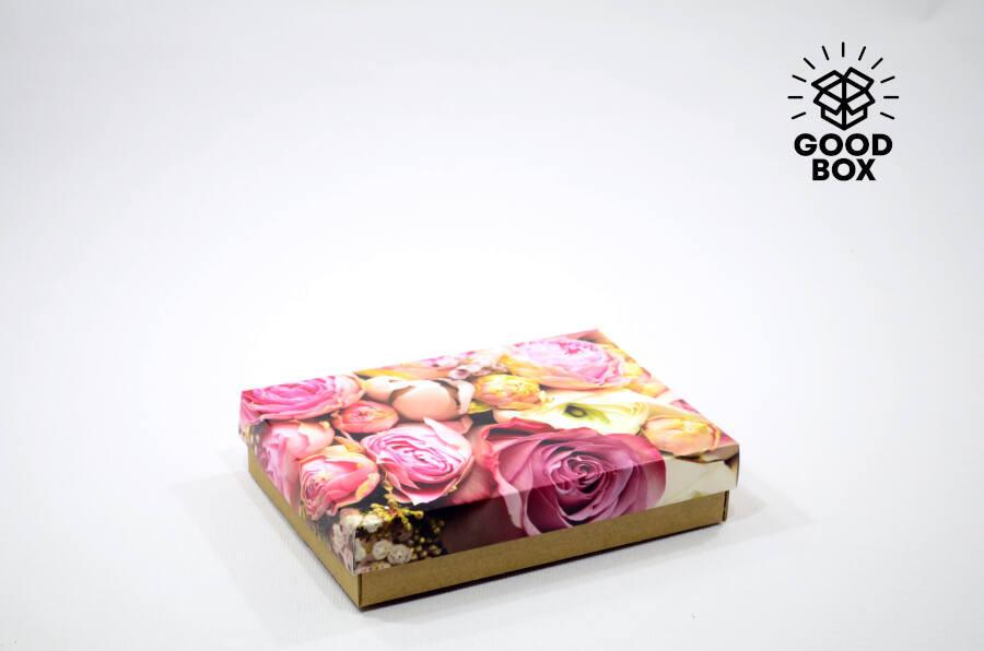 Красивые подарочные коробки с цветами