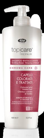 Оживляющий шампунь для окрашенных волос – «Top Care Repair Chroma Care Revitalizing Shampoo»  1000 мл