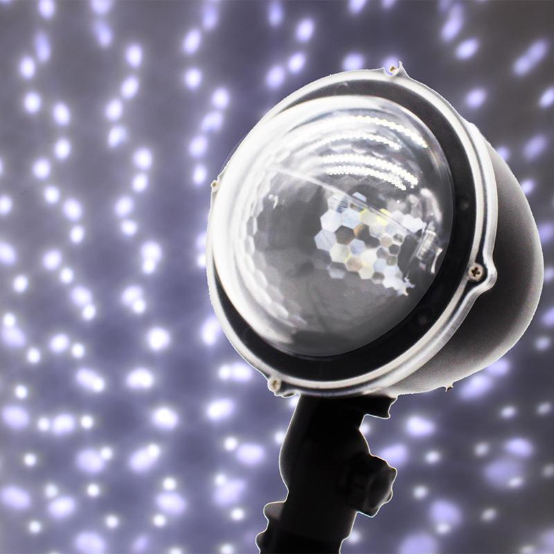 Лазерный проектор - Звездный дом- Белый