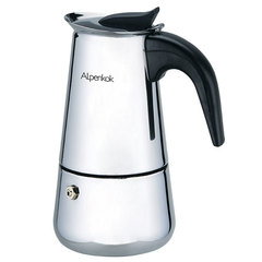 Гейзерная кофеварка ALPENKOK 330 мл на 6 чашек AK-802