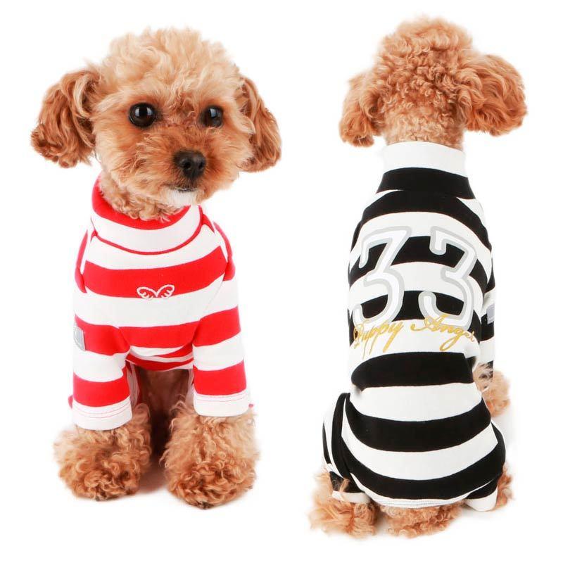 костюмы в полоску для собак