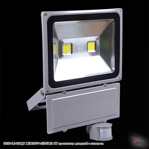 56100-0.2-001QY LED100W+SENSOR GY прожектор диодный с сенсором