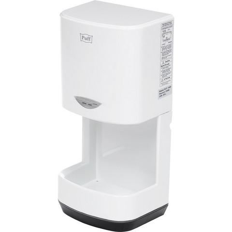 Сушилка для рук электрическая Puff-8838 сенсорная белая
