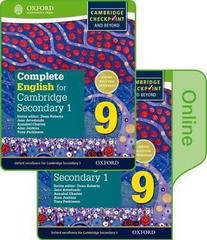 Complete English for Cambridge Lower Secondary Print
