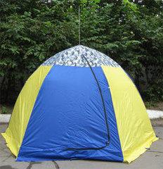 Палатка рыбака с брезентом Стэк-2 (п/автомат)