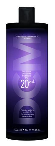 DCM Окисляющая эмульсия со смягчающим и защитным действием 20 Vol (6%) 1000 мл