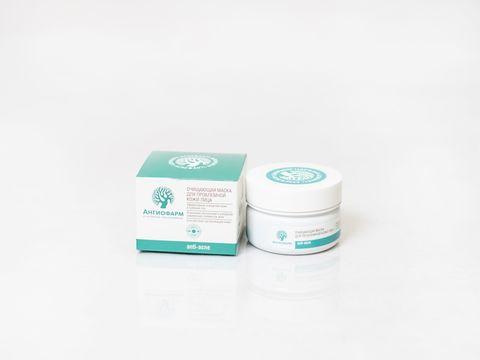 *Очищающая маска для проблемной кожи (АНГИОФАРМ/75мл)