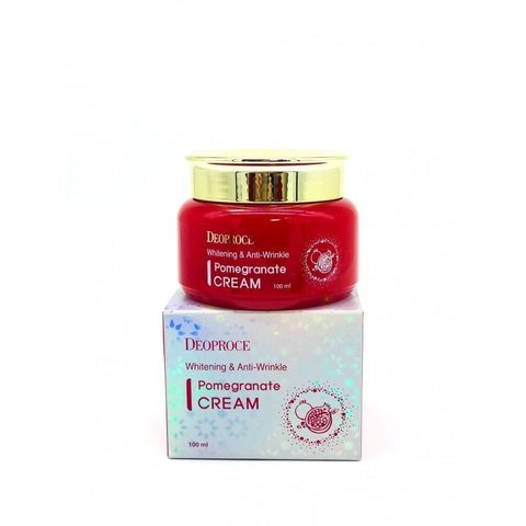 DEOPROCE POMEGRANATE Крем для глаз антивозрастной DEOPROCE WHITENING AND ANTI-WRINKLE POMEGRANATE CREAM 100мл