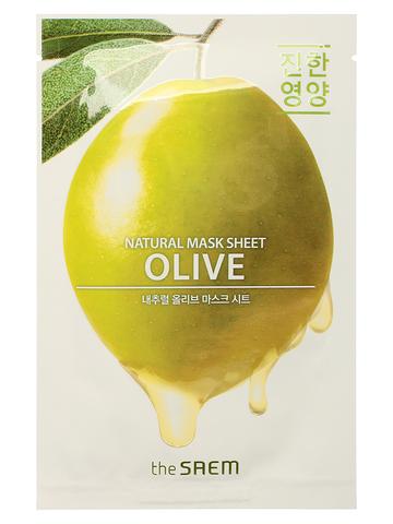 СМ Маска на тканевой основе для лица N с экстрактом лимона Natural Lemon Mask Sheet 21мл