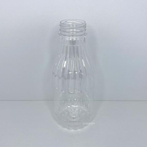 Бутылка 500 мл с широким горлом ø 38 мм прозрачная