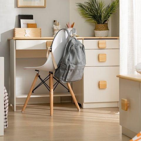 Письменный стол для школьника белый Кидс 5
