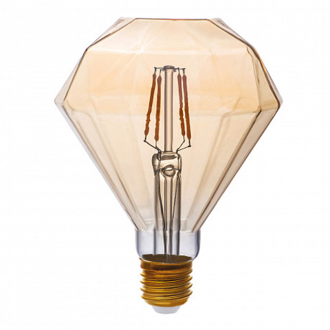 Светодиодная ретро лампа DIAMOND 4W E27 1800K