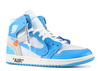 Off-White x Air Jordan 1 'Powder Blue'