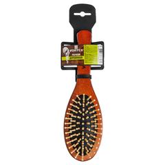 Расческа деревянная, массажная, 22,5 см, «овал», с деревянными зубчиками