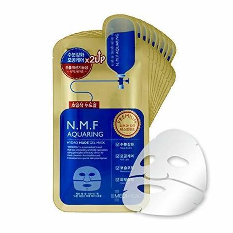 Mediheal N.M.F Aquaring Hydro Nude Gel Mask увлажняющая гидрогелевая маска