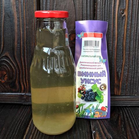 Фотография Уксус натуральный винный, 310 мл купить в магазине Афлора