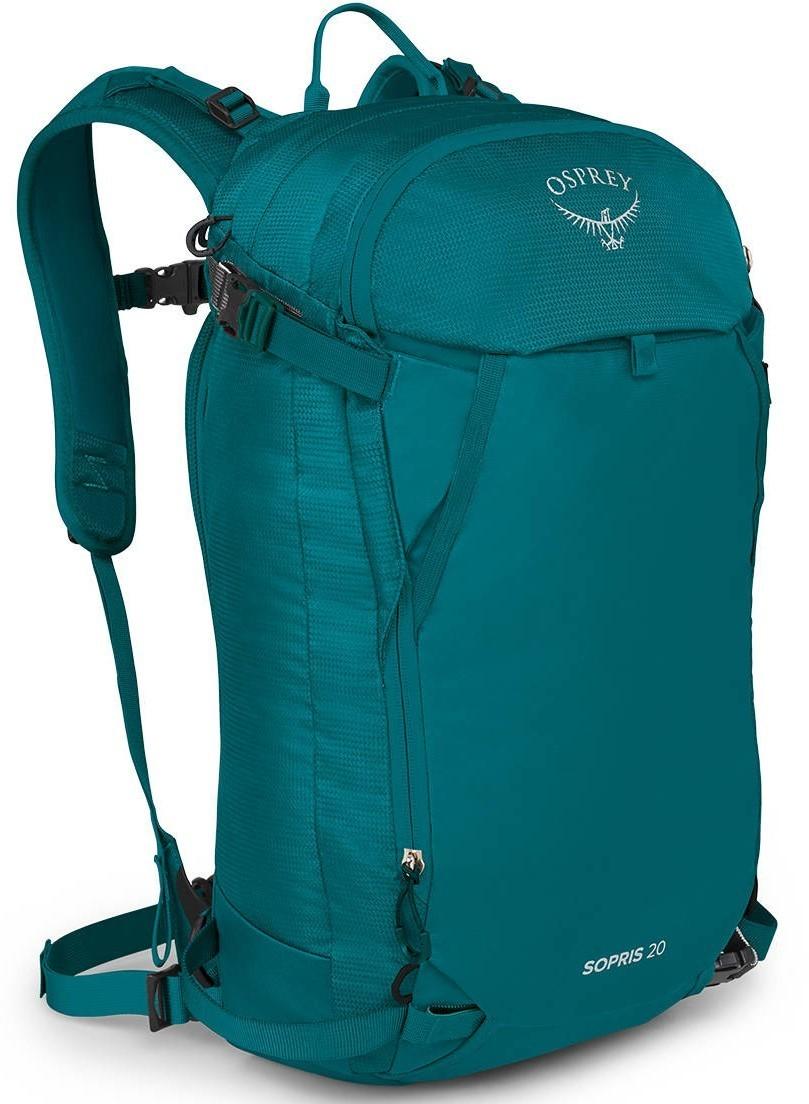 Рюкзаки для сноуборда Рюкзак Osprey Sopris 20 Verdigris Green Sorpis_20_F20_side_verdigrisgreen_web.jpg