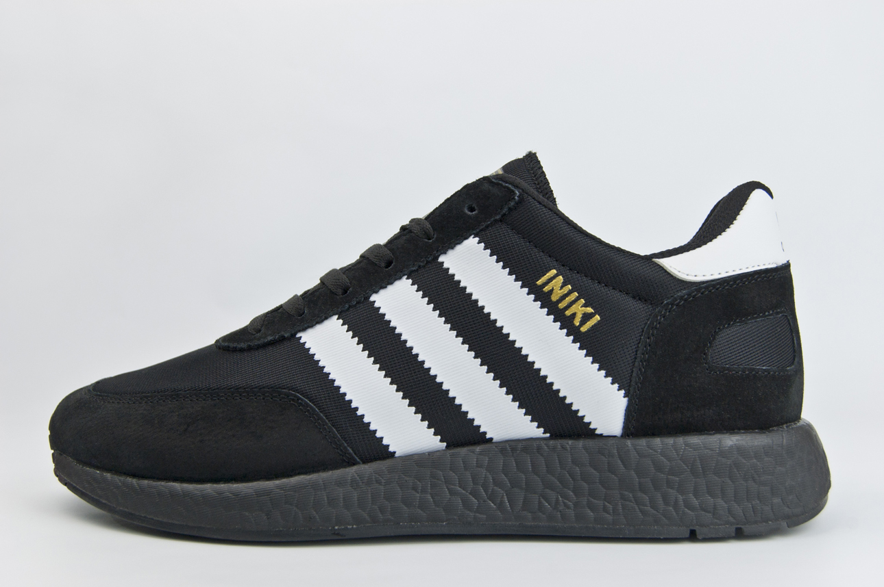 кроссовки Adidas Iniki Runner Black