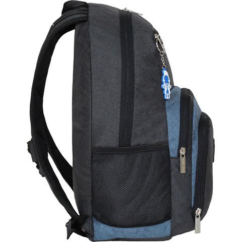 Рюкзак для ноутбука Bagland Freestyle 21 л. черный/серый (0011969)