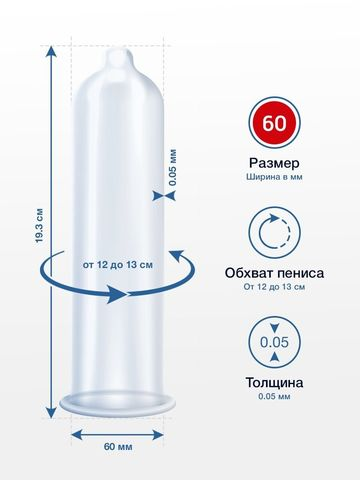Презервативы MY.SIZE размер 60 - 36 шт.