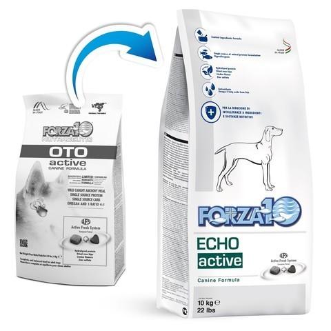 купить FORZA10 ActiveLine DOG Oto Active сухой корм для взрослых собак всех пород с заболеванием слуховых органов