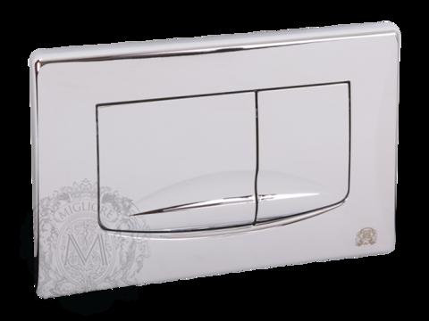 Кнопка смыва Migliore H165xL245 mm пластик хром