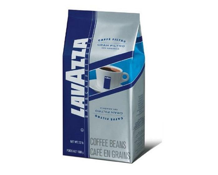 Кофе в зернах LavAzza Gran Filtro, 1 кг (Лавацца)