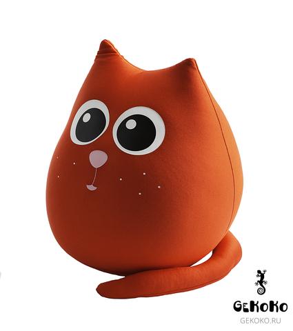 Подушка-игрушка антистресс Gekoko «Кот Искра» 5