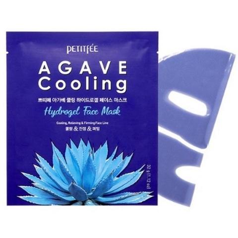 Petitfee Agave Cooling Hydrogel Face Mask охлаждающая гидрогелевая маска для лица с агавой