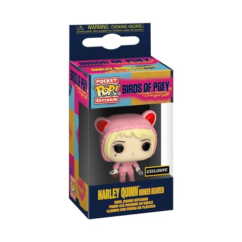 Брелок Funko Pocket POP! Keychain: Birds of Prey: Broken Hearted (Exc)