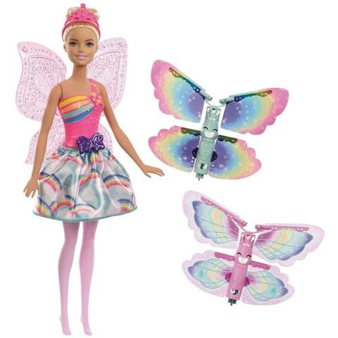 Барби Дримтопия Фея с Летающими Крыльями