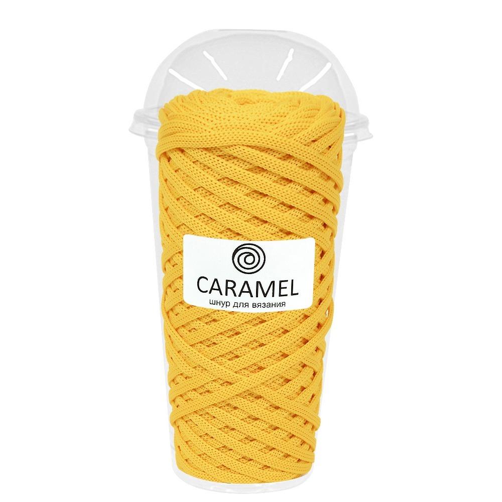 Плоский полиэфирный шнур Caramel Полиэфирный шнур Caramel Банан банан.jpg